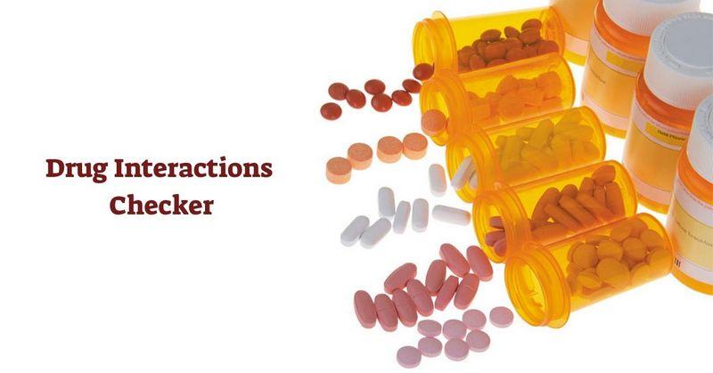 Drug Interactions Checker